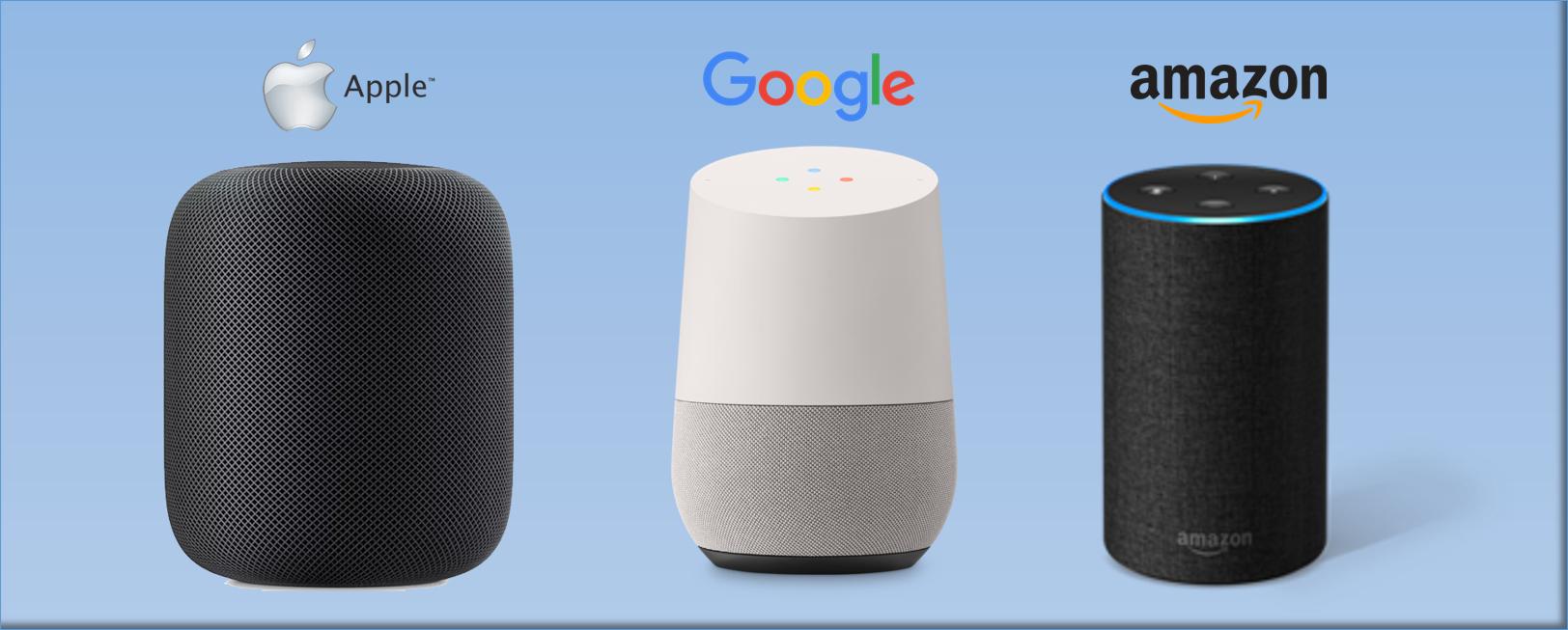 Voice pod apple google amazon
