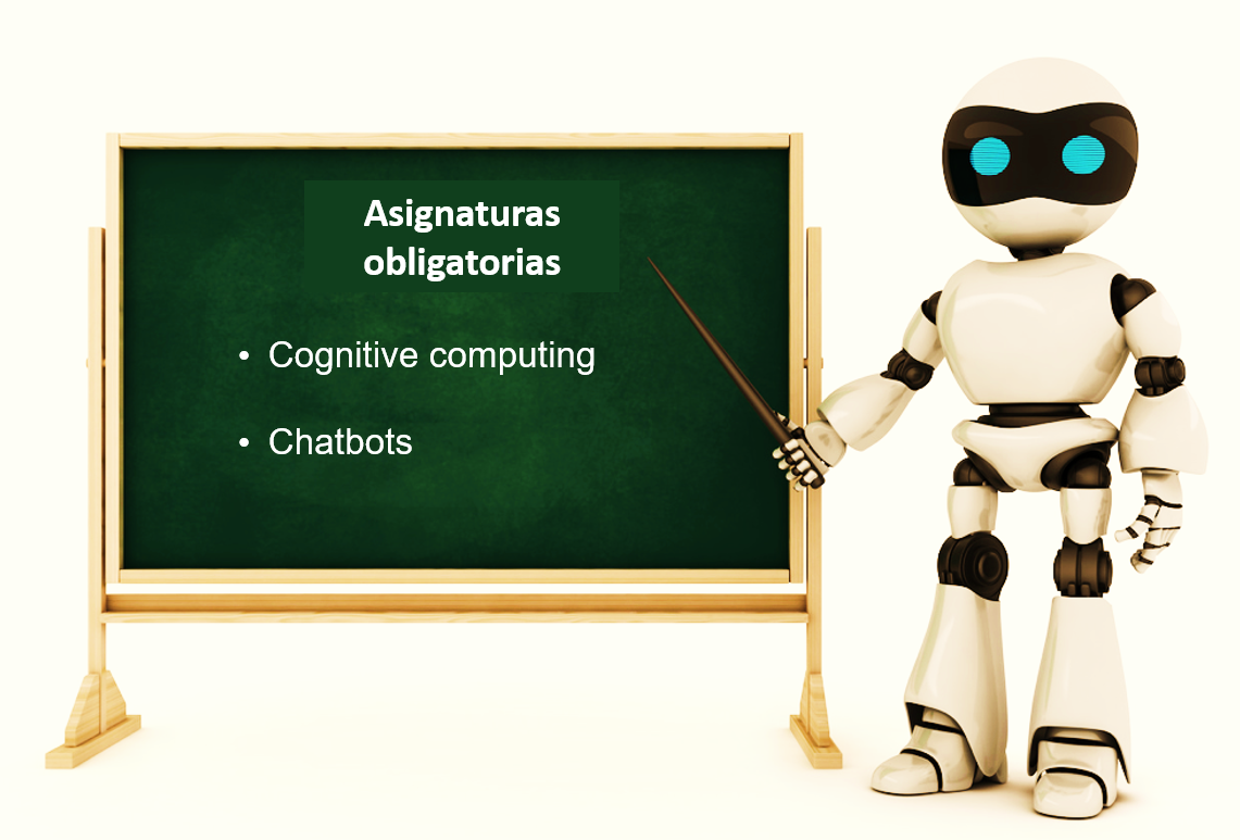 asignaturas obligatorias cognitive computing y chatbots