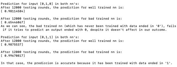 programar inteligencia artificial rondas entrenamiento