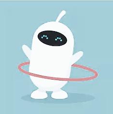 robot entrenando