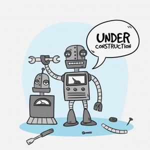 robots haciendo robots