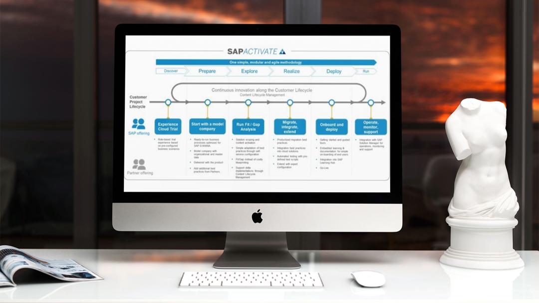 SAP ACTIVATE : claves de la nueva metodología de SAP